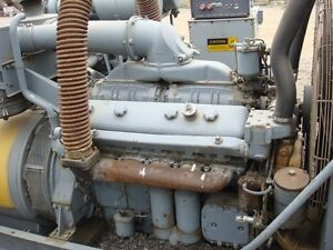 Kato Generator Set 150kw 2400 4160 Volts
