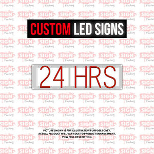 Custom Led Sign 24 Hours Customizable