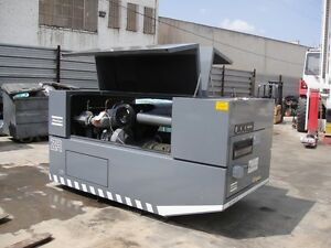 Atlas Copco Air Compressor Year 1992 Serial 10832 92 38506 Hours 60hp