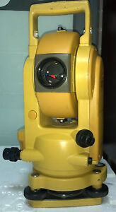 Topcon Cts 2 Digital Theodolite Transit Total Station