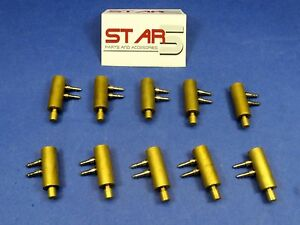 Dental Automatic Holder Valve Handpiece Mount Kit 10 pcs Star5