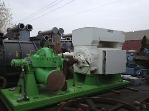 Sulzer Pump Type Hsb Size 14x14x23 With Skid And 5000hp Motor