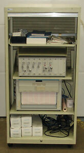 Gould Dc Thermocouple Amplifier With Oscillographic Recorder 15064ell
