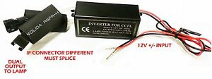 Ccfl Inverter Kit For Bmw Mazda Lexus Angel Eyes Halo Rings 12v 2 Output Ballast