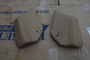 04 Porsche Cayenne Turbo Rear Seat Side Pad Tan Left Or Right Oem