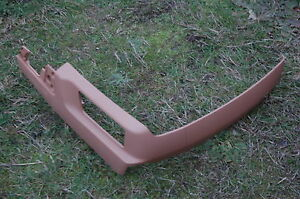 04 Porsche Cayenne Turbo Front Passenger Seat Side Cover Tan Oem