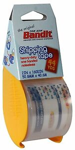 12 Rolls Box Carton Sealing Packing Shipping Tape 2x1600 Heavy Duty Bandit Tape