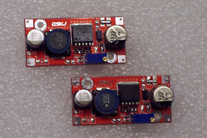 2 Pcs New Red Xl6009 Dc dc Adjustable Step up Power Module Replaces Lm2577