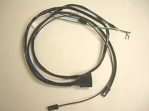 1960 60 Chevy Impala Belair Biscayne Engine Wiring Harness 348 El Camino