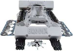 Brodix Sbc Top End Combos Sts 18 Std X With Head Studs Max 700 Lift 9991005