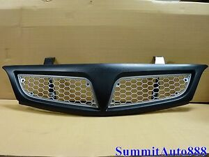 Fits 01 02 03 04 05 Pontiac Montana Grill Assembly Painted Match Gb ptm1000a