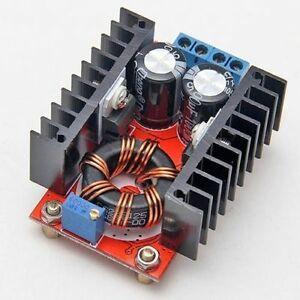 Dc dc Step Up Voltage Boost Converter 10 32 Vdc In To 12 35 Vdc Out 150 Watts