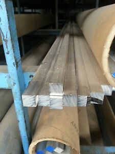 Alloy 304 Stainless Steel Square Bar 1 3 4 X 1 3 4 X 72