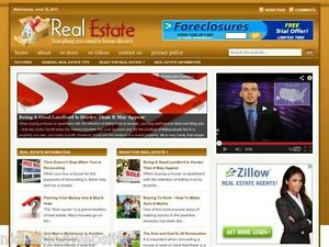 Real Estate House Homes For Sale Wordpress Blog Website For Sale