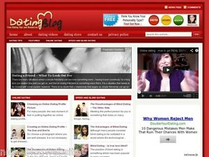 Hot Online Dating Singles Matchmaking Resource Wp Blog Website For Sale