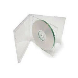 100 New Clear Double Standard Cd Dvd Jewel Case 10 2mm By Ups Ground