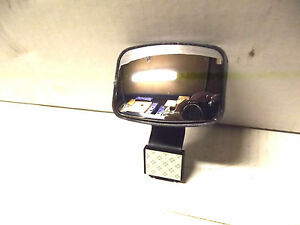 2 Rectangular Cute Neat Stick On Blind Spot Adjustable Rear View Mirror 3 4