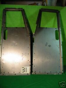 Jaguar Xk 120 Xk120 Dhc Fhc Metal Floor Pair x31