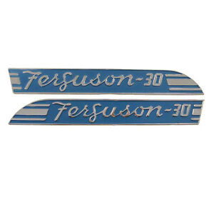 Blue Side Emblems To30 Pair Massey Ferguson 067