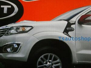 Fitt Side Vent Simulator Cover Trim For New Toyota Fortuner 2012 13