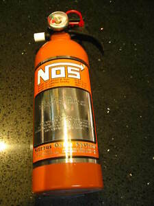 New Kidde Fire Extinguisher Nitrous Bottle Look A Like Nos Hemi Orange Race Car