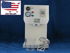 Dental Lab Vacuum Mixer With One Cup 110v 006 dq 01 Lab Series Dentq