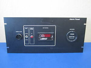 Alarm Panel Assembly W Enseco Q2001tdc1 Temperature Controller