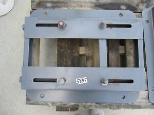 Adjustable Motor Base 320t Used Excellent Condition Fresh Paint