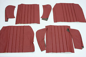 Porsche 356 1960 1965 Coupe Or Cabriolet Rear Seat Covers