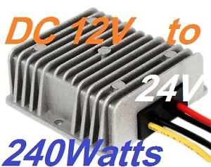 Dcdc Converter Regulator 12v Step up To 24v 10a 240w