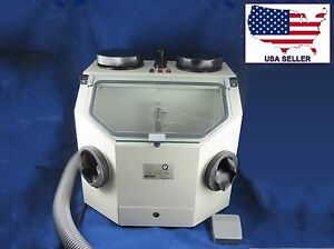 Dental Laboratory Sandblasting Machine Box 026 2 Lab Sandblaster 110v Dentq