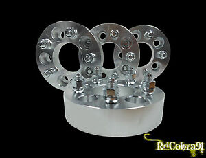 4 Wheel Spacers For Jeep Cherokee Wrangler 5x4 5 1 5 Thick Same Day Shipping