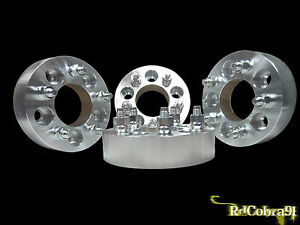 4 Pc Ford Mustang Cobra 2003 2004 Wheel Spacers 5x4 5 1 5 Thick Terminator