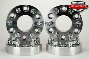 4 Wheel Spacers Adapters 6x4 5 To 6x5 5 1 25 Thick 6x114 3 To 6x139 7