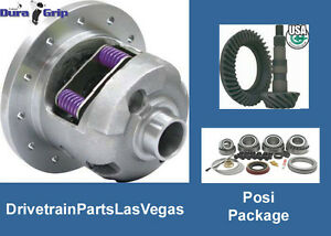 Posi Package Dura Grip 10 Bolt Gm 8 2 Gear Set Super Master Bearing Kit Chevy