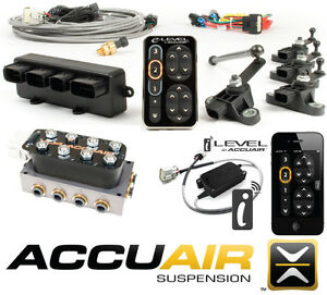 Accuair Elevel Vu4 Manifold Ilevel Complete Management Kit Air Ride Suspension