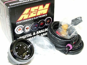 Aem 30 4401 52mm Electronic 0 100psi Oil Fuel Pressure Gauge Meter