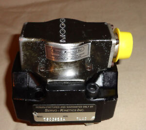 Moog 760c928a Servo Valve Remanufactured By Servo Kinetics