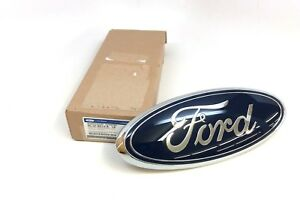 11 16 Ford Super Duty Front Chrome And Blue Oval Grille Emblem Oem Bc3z 8213 a