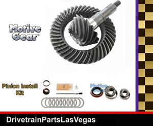 Motive Blue Oem Ford 8 8 3 27 Ring And Pinion Gear Set Pinion Install Kit Pkg