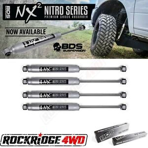 Bds Nx2 Series Shocks For 84 01 Jeep Cherokee Xj W 4 5 Of Lift Set Of 4 Shocks