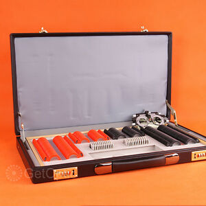 232pcs Plastic Rim Trial Lens Set Leather Case Trial Frame Gift Present