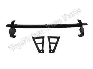 2007 2010 Chevy Silverado Heavy Duty Rear Bumper Hitch Reinforce Bar Bracket 3pc