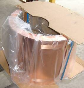 New 20 Wide Copper Roofing Sheet 1000 Lbs Spools 16 Oz