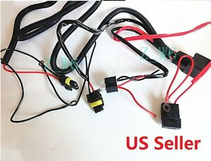 Xenon H4 9003 Hid Relay Wiring Harness Hi Lo Controller High Low Conversion Kit
