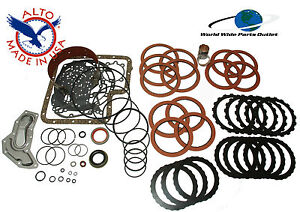 Ford C6 Rebuild Kit High Performance Master Kit Stage 2 Alto Red 1976 1996