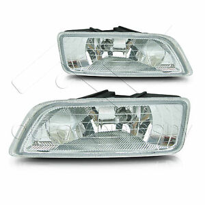 Fit 06 07 Honda Accord Inspire 4dr Fog Light W Wiring Kit Instruction Included