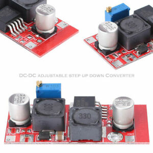 4 Pcs Dc Boost Buck Adjustable Step up down Red Xl6009 Voltage Boost Modules
