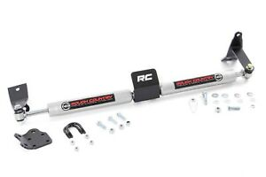 Dodge Ram 2500 3500 Dual Steering Stabilizer 2003 2012 4wd Rough Country