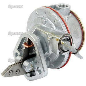 Ford Tractor Fuel Pump 3000 5000 6600 7000 8000 8600 8700 9000 9600 9700 Tw5 35